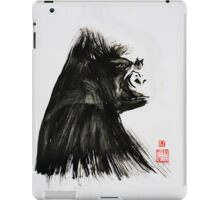 Portrait of a Lowland Gorilla-formatted for ipad case iPad Case/Skin