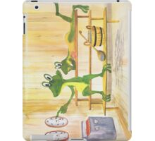 All about Frogs 2, Sauna for iPad iPad Case/Skin