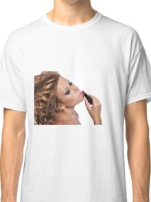 Amazing Beauty with stunning Make Up Classic T-Shirt