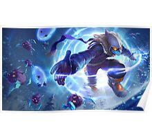 Snow Day Malzahar League of Legends Poster