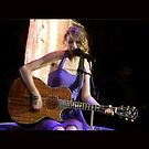 Taylor Swift in Concert Ipad Case by Double-T