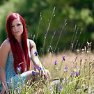 Zoe in the meadow by SunseekerPix