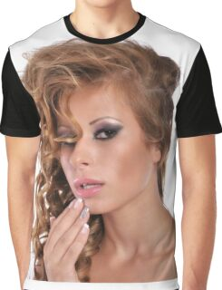 Stunning Beauty with amazing Make Up Graphic T-Shirt