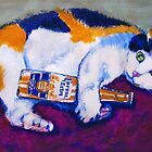 'Calico Corona' Calico Tabby Cat by Kelly Telfer