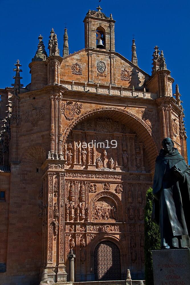 Spain. Salamanca. San Esteban Church. by vadim19