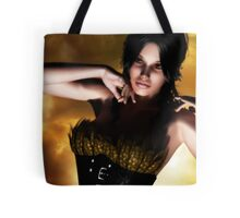Le Corset a Plumes  (the feathered corset) Tote Bag