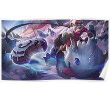 Poro Rider Sejuani League of Legends Poster