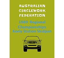 The ACF Keely Station Championships Photographic Print