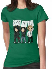 SIXX AM CARTOON Womens Fitted T-Shirt