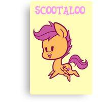 My Little Pony: Chibi Scootaloo Canvas Print