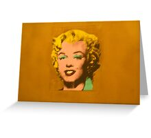 Marilyn at MOMO NY Greeting Card