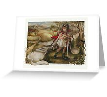 Sheep In Wolfish Clothes Greeting Card
