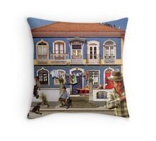 Windows of the Algarve Throw Pillow
