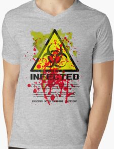 INFECTED and 28 Days Later Mens V-Neck T-Shirt