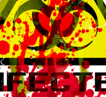 INFECTED and 28 Days Later Sticker