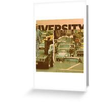 innercity downtown upstate mood' Greeting Card