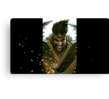 Draven League of Legends Canvas Print