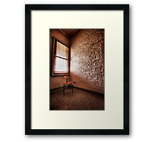 The Naughty Chair Framed Print
