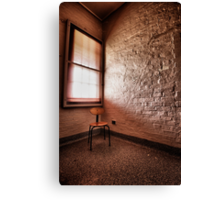The Naughty Chair Canvas Print