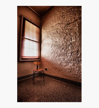The Naughty Chair Photographic Print