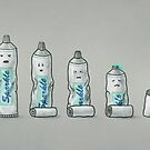 Life is like a tube of toothpaste  by Terry  Fan