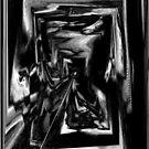 Man Falling Over a Black Cat. by Boccioni