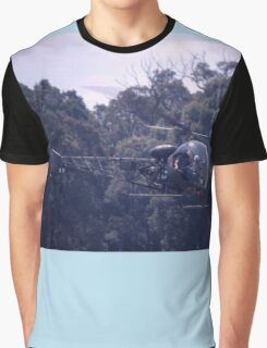 Bell 47 Helicopter @  Nowra, Australia 1997 Graphic T-Shirt
