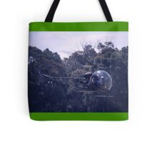 Bell 47 Helicopter @  Nowra, Australia 1997 Tote Bag