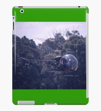 Bell 47 Helicopter @  Nowra, Australia 1997 iPad Case/Skin