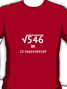 Arbitrary Square Root (light) T-Shirt