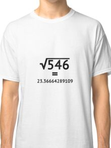 Arbitrary Square Root Classic T-Shirt