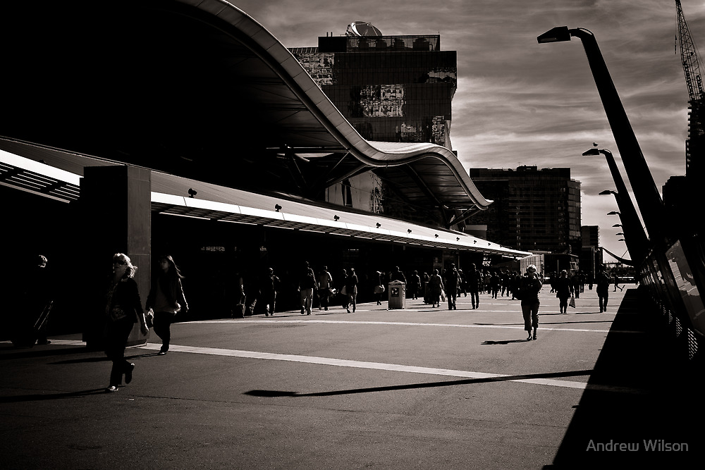 The commuters by Andrew Wilson