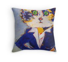 'You're Late' Throw Pillow