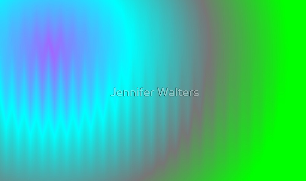 Color Ripples by Jennifer Walters