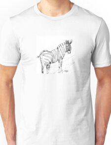 Scribbler Zebra Unisex T-Shirt