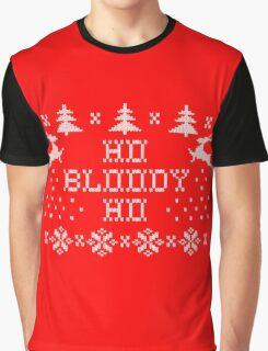 Ho bloody Ho Graphic T-Shirt