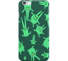 levitation for bunnies iPhone Case/Skin