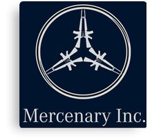 Mercedes Mercenaries  Canvas Print