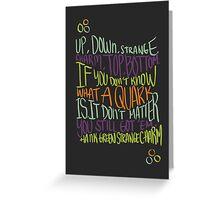 Strange Charm Greeting Card