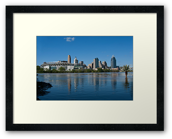 Cincinnati skyline 8 by Phil Campus