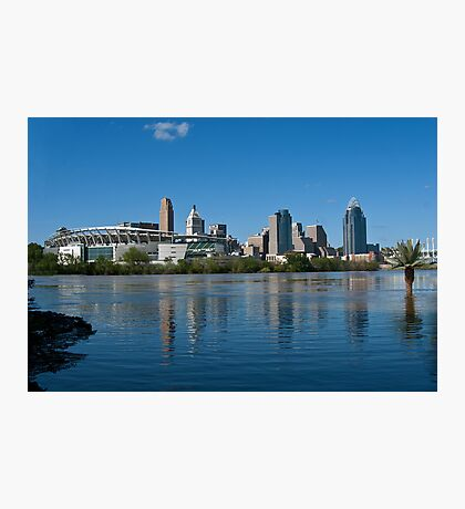 Cincinnati skyline 8 Photographic Print