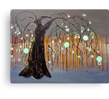 :: Willow Sunset :: Canvas Print