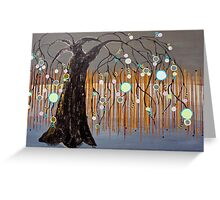 :: Willow Sunset :: Greeting Card