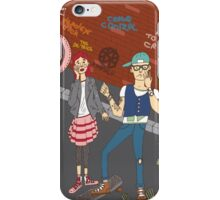 The zombie attack iPhone Case/Skin