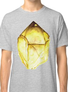 Watercolor Citrine – November Birthstone Classic T-Shirt