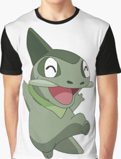 Happy Axew Graphic T-Shirt