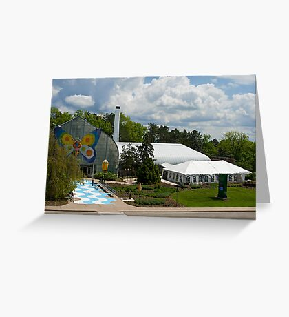 Krohn Conservatory  Greeting Card