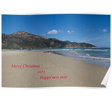 Merry Christmas and Happy new Year . Tidal River Poster