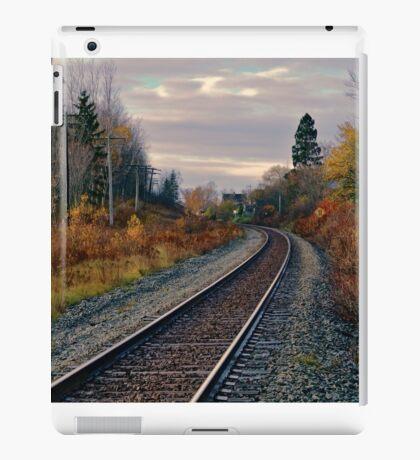 Railroad Tracks iPad Case/Skin