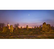 Sighthill Stone Circle Photographic Print